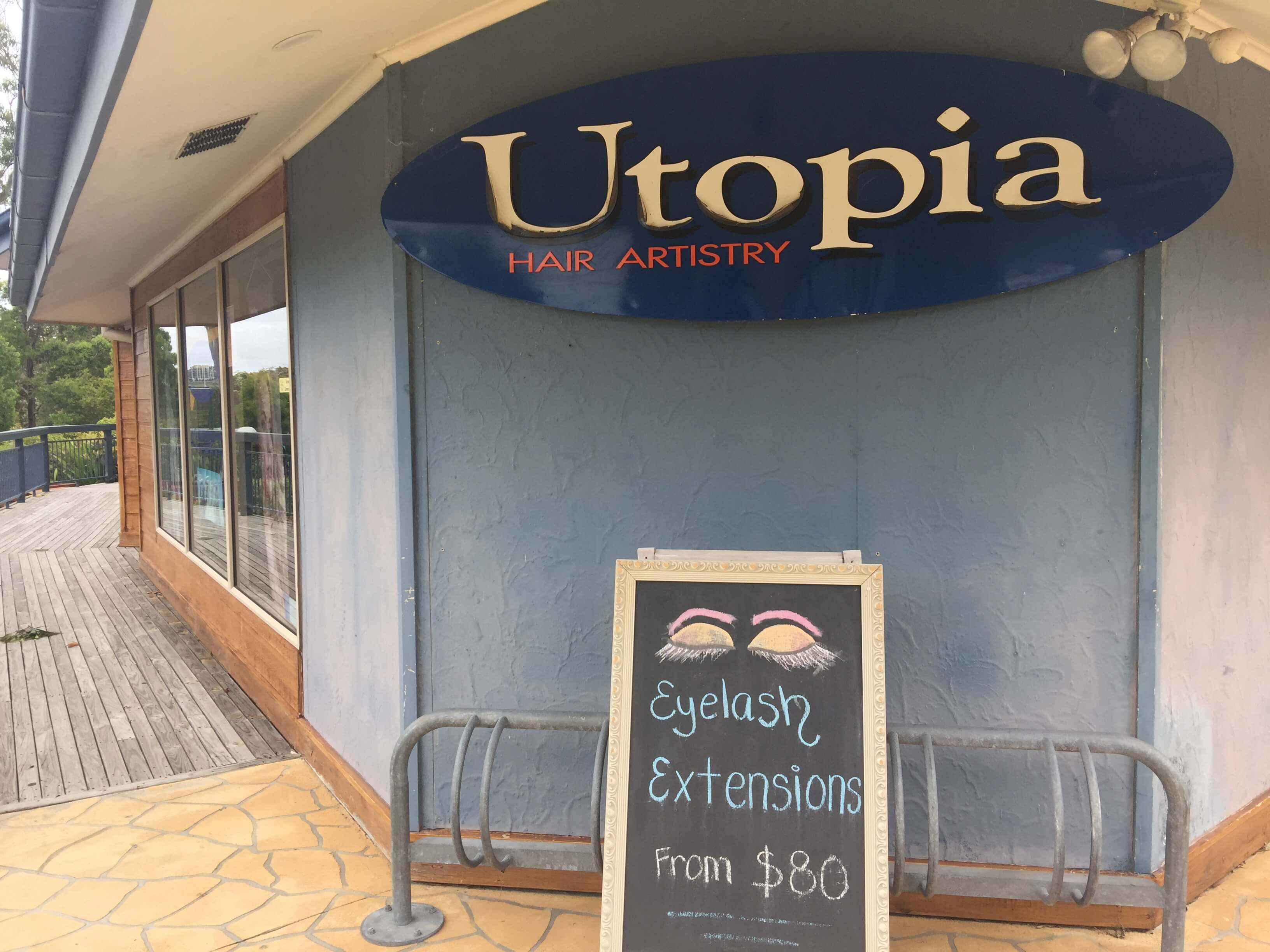 Utopia Hair Artistry and Beauty - Shop Front